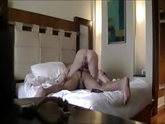 Couple make a private sextape