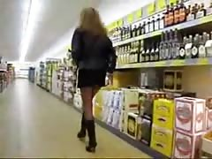 German flashing in market. Temeka from dates25.com