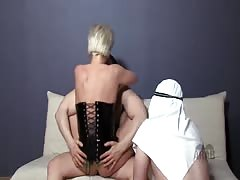 Mistress show Arab Slaves what really awaits them in Heaven