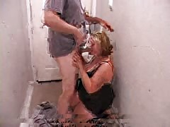 Stunning deep blowjob performed by an awesome BBW slut