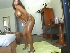 Big-ass mature Latina fucked by a huge black wiener!