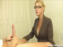 step mom caught jerking off