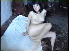 Good anal sex from the 90's with a sweet Russian brunette