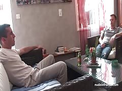 Horny french milf deep analized and double penetrated