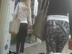 most perfect ass maybe? trully amazing.Hidden cam.Yoga pants