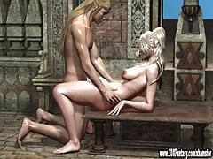 3D Babes get pounded