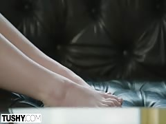 TUSHY Beautiful Huge Ass Has Amazing Anal Sex With Her Sister's Ex