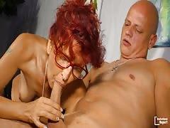 DeutschlandReport - Redhead German slut getting doggy fucked