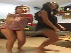 Asian happy dance