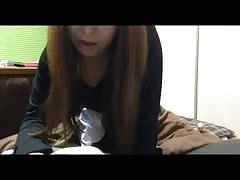 Japanese girl blowjob