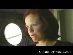 Perfect titjob by a lusty as fuck amateur Annabelle Flowers
