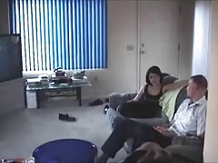 Real cheating - hidden cam by his wife