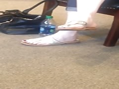Candid Feet at the Dentist Pt 2