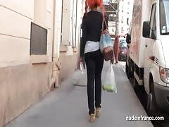 Sextape black slut from the street hard banged