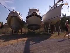 Heisser dreier in der Bootswerft
