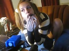 Amber Blank cam show